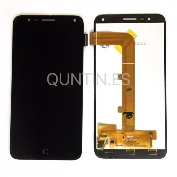 Alcatel Pop4 , OT-5051D,5051X, pantalla completa negra