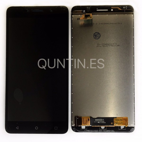 "Alcatel Pixi 4 (6) OT8050 Tela 6"" pantalla completa negra"