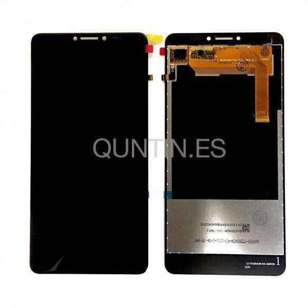 Wiko ufeel fab pantalla completa negra