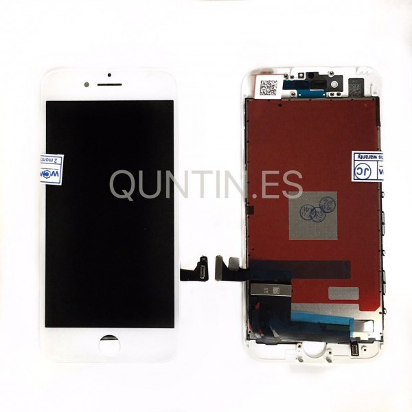 IPhone 7 Pantalla completa blanca LCD + tactil  compatible