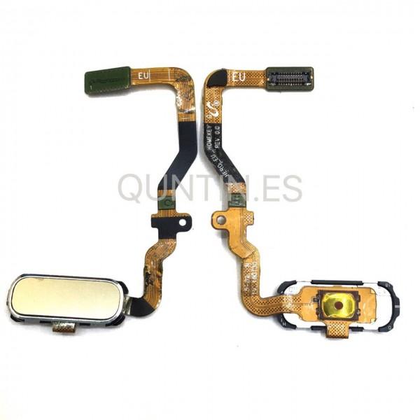 Samsung S7, G930F flex de boton home dorada