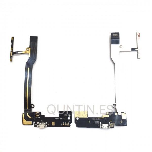 Cable flex de carga de BQ E5 4G, 0982