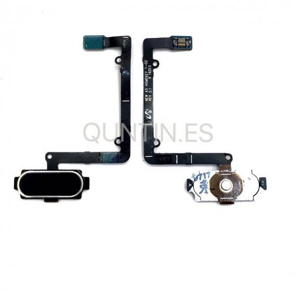 Samsung A5 (2016), A510F cable flex boton home  negra