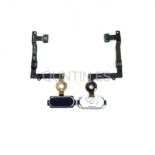 Cable flex HOME negra  para Samsung S6 Edge Plus, G928F