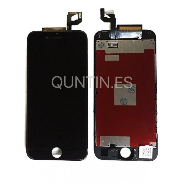 iphone 6s pantalla completa negra