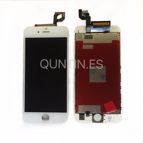 iphone 6s pantalla completa blanca