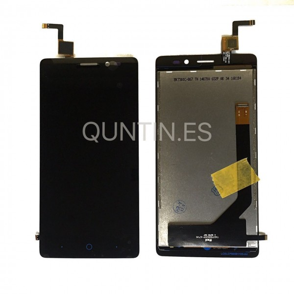 ZTE BLADE A450 pantalla completa negra