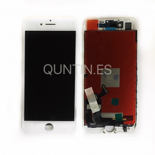 iPhone 8, 8G pantalla completa blanca compatible