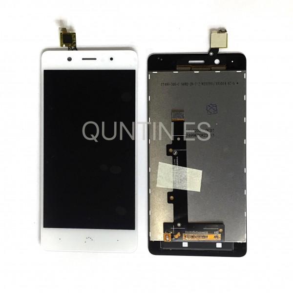 BQ X5 PLUS pantalla completa Blanca