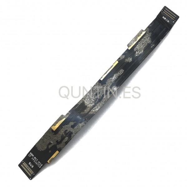 BQ Aquaris M5.5 Flex de interconexión de placa base y placa de carga axuliar