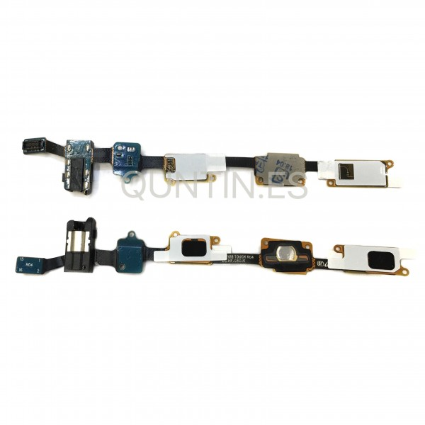 Cable flex de Home y funcion de Samsung J7 2016, j710F