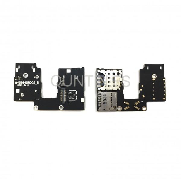Placa de lector SIM y microSD para MOTO G3, XT1541
