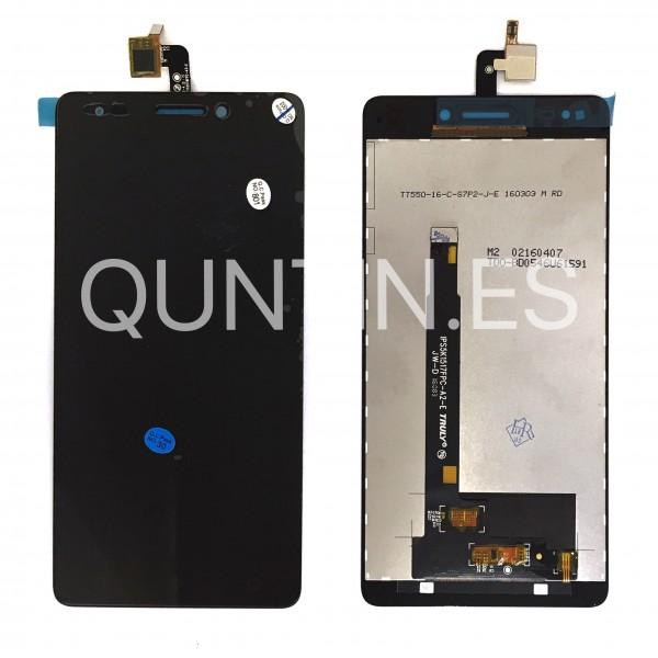 BQ Aquaris M5.5 pantalla copleta negra