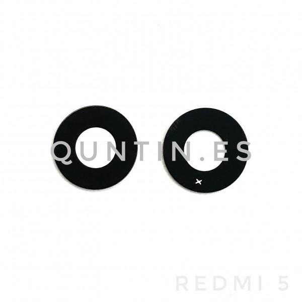 Lente de camara cristal para Redmi 5, Redmi5