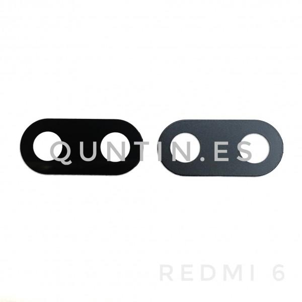 Lente de camara cristal para Redmi 6, Redmi6, Redmi 6A