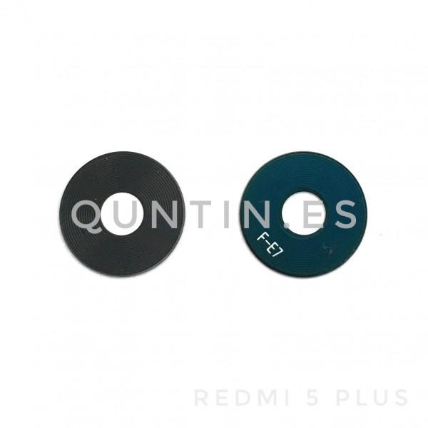 Lente de camara cristal para Redmi 5 plus, Redmi5 plus