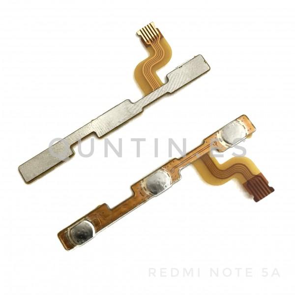 Flex de encendido y volumen para Redmi Note 5A, Prime, Y1, Y1 Lite