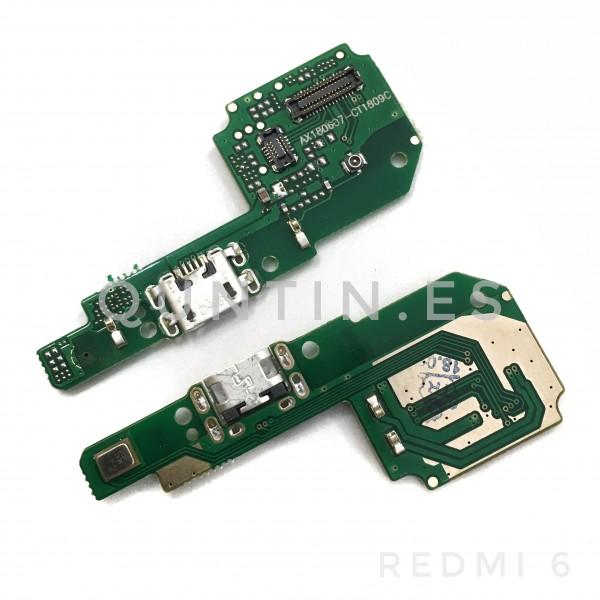 Placa de carga para Redmi 6, Redmi6