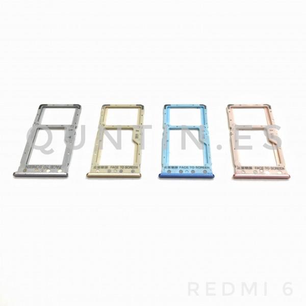 Bandeja SIM para Redmi 6, Redmi6, Redmi 6A