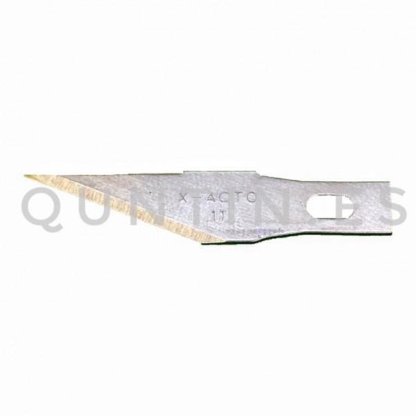 10 Unidad Recambio hojas Acero de corte para cuter de precisión Cuchillo BSD-11A