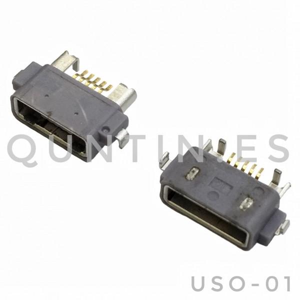 SONY ST18 LT25 LT29 LT36 L36H ST15 WT18 WT19 ST25 LT25 Z USB Conector de carga