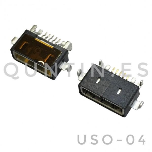 Conector USB de carga SONY LT15/LT18/X12/ST27/MT15/X9/MT11