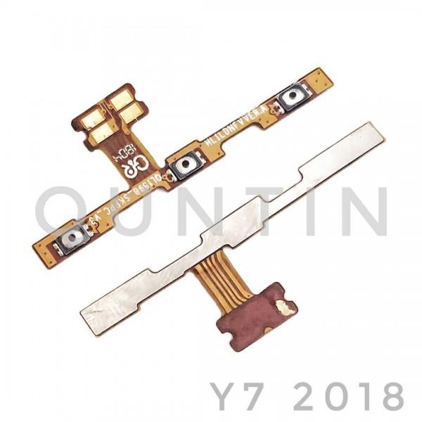 HUAWEI Y7 2018 Flex Cable de Encender y Volumen