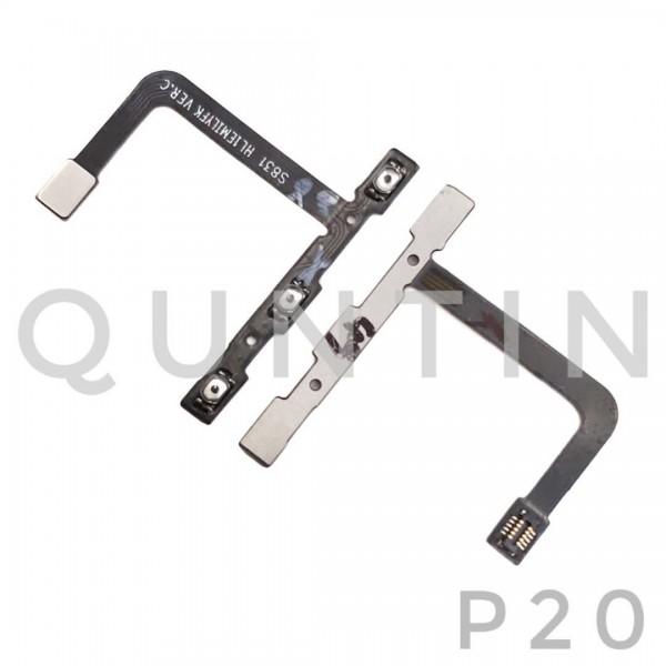 HUAWEI P20 Flex Cable de Encender y Volumen