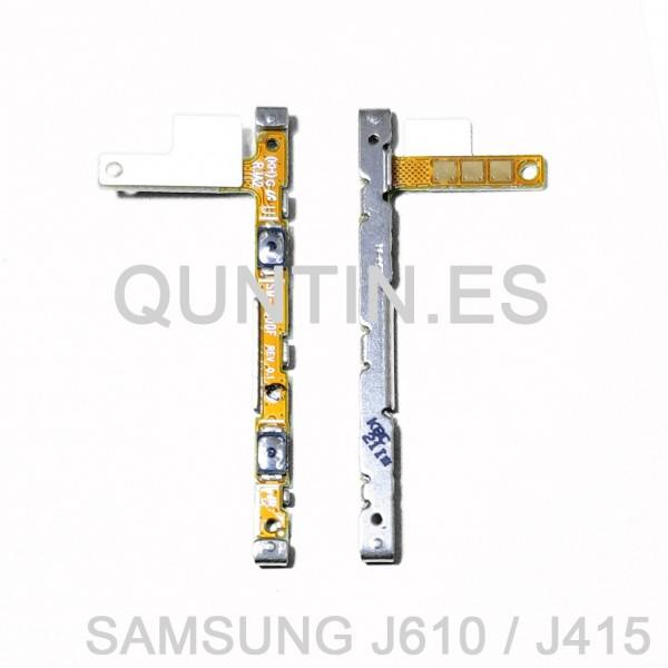Flex de volumen para Samsung J4+, J6+, J4 Plus, J6 Plus, J415F  J610F