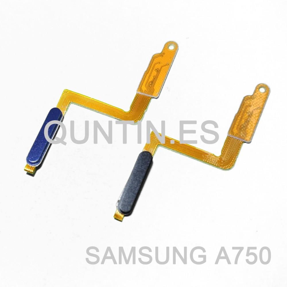 Flex de botón enciendido y huella para Samsung A7 (2018), A750F