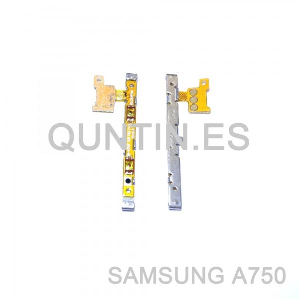 Samsung A7 (2018), A750F/DS, A750FN/DS flex de volumen