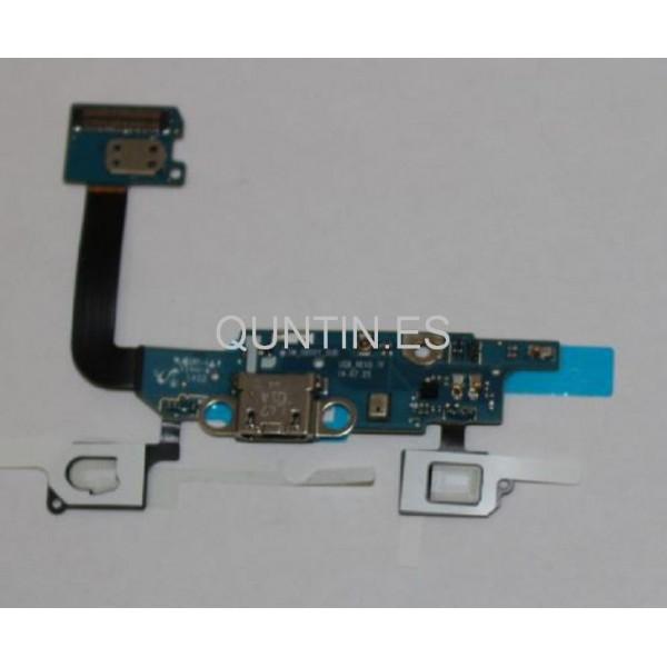 Samsung Galaxy Alpha G850F Flex con conector de carga y micrófono