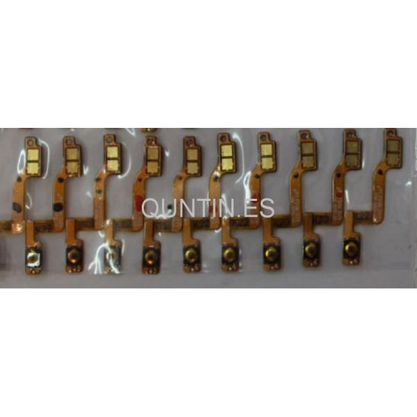 SAMSUNG GALAXY MEGA i9200,i9205  Flex con botón de encendido