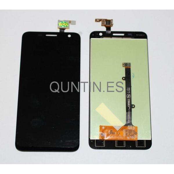 Alcatel Touch Idol Mini OT 6012D, 6012X, 6012A, Orange Hiro,Tactíl+LCD Negra