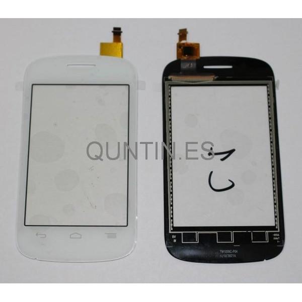 Alcatel One Touch Pop C1, Orange Yomi,4015X Táctil Blanco