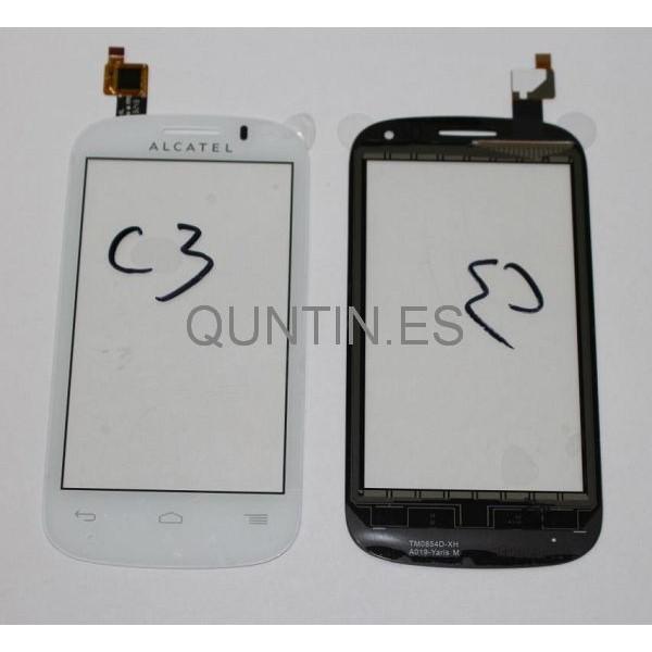 Alcatel One Touch Pop C3, 4033, 4033D Táctil Blanco